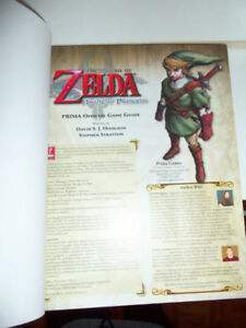 Livre de collection Zelda Twilight Princess