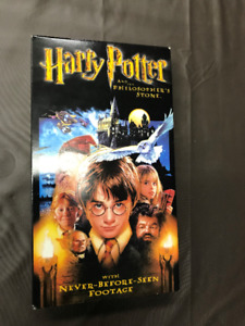 Harry Potter and the Philosopher's Stone VHS movie!