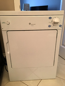 GE Spacemaker 120 Volts Electric Stackable Dryer