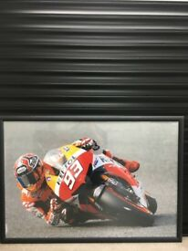 Moto GP Framed Prints