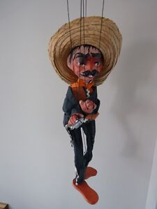 Vintage Mexican String Puppet