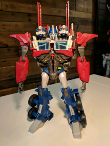 Transformers Prime Weaponizer Optimus Prime Loose