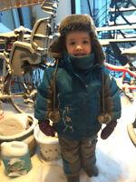Habit de neige Perlimpinpin 2ANS avec accessoires Comme neuf !