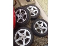 "15"" Peugeot 306 GTi / HDi Cyclones Alloys 4x108"