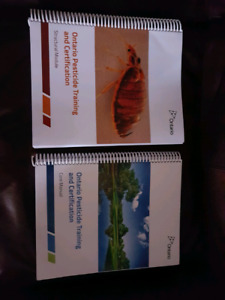 Ontario structural pest control books and exam date.