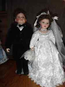 collection dolls, wedding couple
