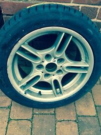 BMW 5 Series Type 66 alloy with brand new tyre