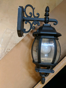 Outdoor wall lights- 5 pieces available