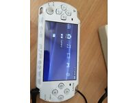 Sony psp console-4 games