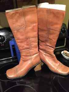Light brown boots. Size 7. $10
