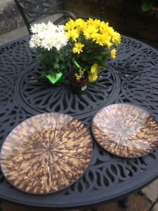 Patio Ware--Serving Plates