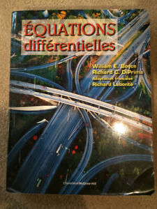 Livre Equations Differentielles