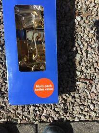7 sets Brass Internal Door Handles