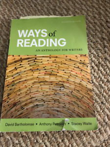 Ways of Writing: An Anthology for Writers (11th Edition)