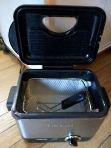 Cuisinart Compact Stainless Steel Deep Fryer, Great Condition!