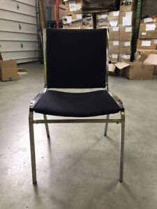 Used Black Office / Dining / Reception Chairs