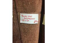 Carpet roll end 2.85 x 2m