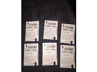 X 5 Thorpe Park Tickets