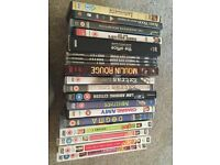 Selection of DVDs - job lot