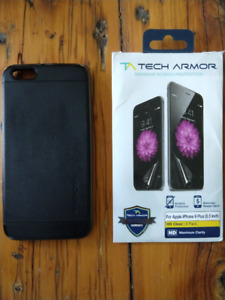 iPhone 6 Plus Screen Protectors and Case