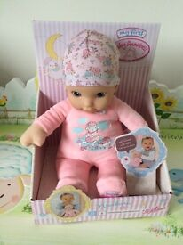 Brand new baby Annabell doll