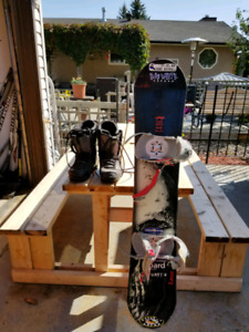 "58"" Lamar Snowboard with Boots and Bindings"