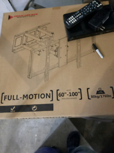 Full motion articulating wall mount