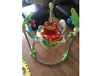 VGC Fisher Price Jumperoo with original box
