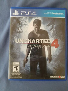 Uncharted 4 A Thief's End Like new PS4