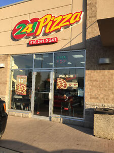 TURN KEY 241 PIZZA FRANCHISE BUSINESS FOR SALE