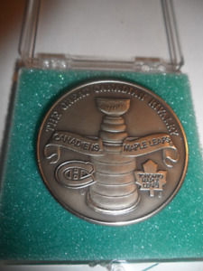 THE GREAT CANADIAN RIVALRY NICKEL COIN/MEDALLION