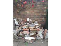 Broken bricks free