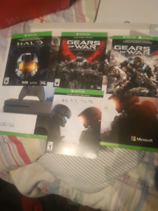 Xbox one games (never used)