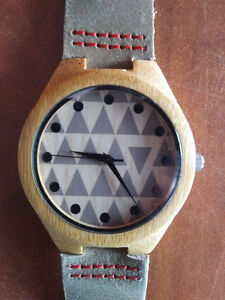 Hand crafted men's watch.