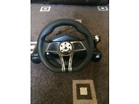 Venom PS3/PS4 steering wheel and pedals