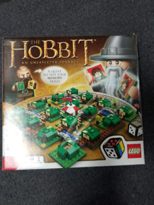 Lego The Hobbit board game