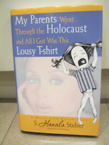 NEW book My Parents Went Through the Holocaust and all I got...