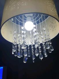 2 chandeliers lights