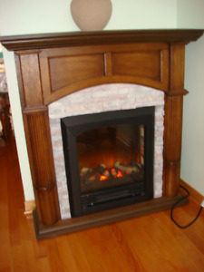 Ambiance Flame Electric Fireplace Heater
