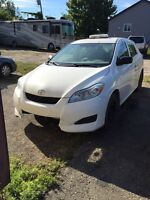 Toyota matrix 2010 for exportation only