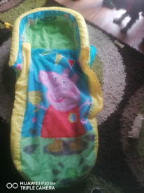 Peppa pig Toddlers travel bed