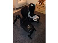 Kiddie evolution car seat and ISOFIX base