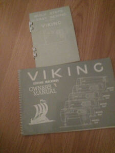 Viking sewing machine manuals for models 164 through 564 London Ontario image 1