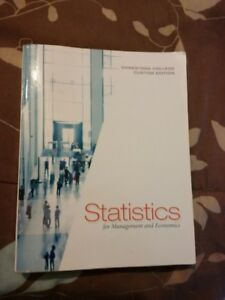 Statistics 10th Conestoga EditionSt