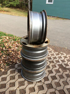 "Used 17"" Steel Rims - Fit Ford F150"