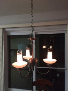 Lampe suspendue 15$