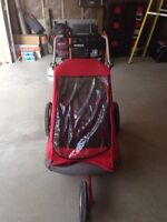 Little Tikes chariot double stroller