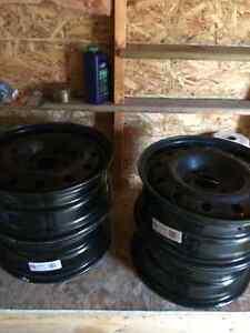 16X8 winter wheels.