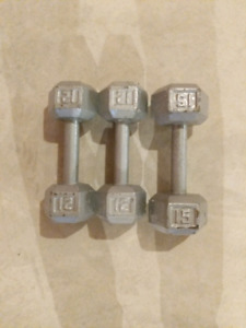 Metal weight for working out