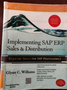 Implementing SAP SD ERP ECC 5 and 6 by Glynn C williams